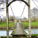 Foot bridge over the river Lugg... by snowy