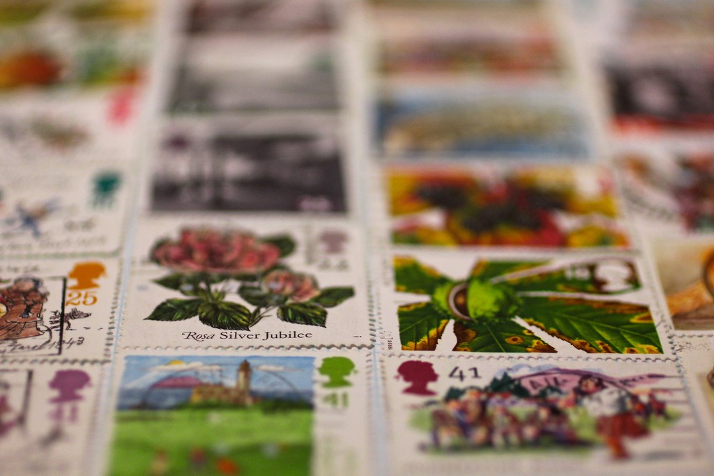 Stamp Collection by jamibann