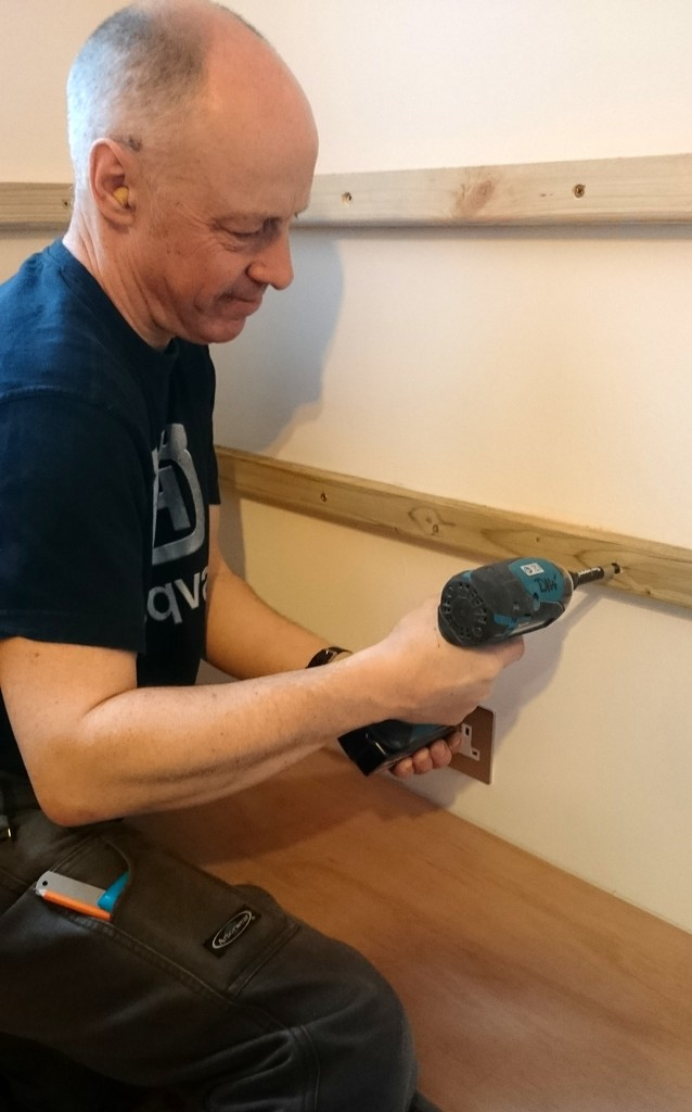 D is for DIY (and David doing the drilling) by boxplayer