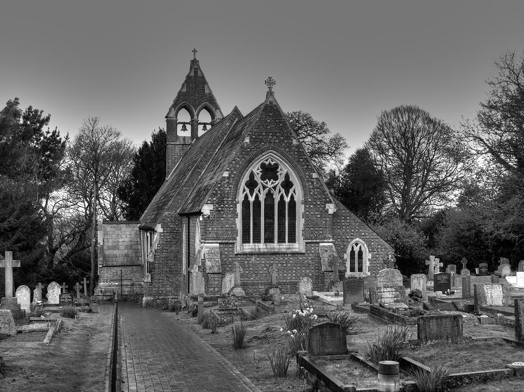 Bramshaw Church 2 by judithdeacon