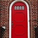 The Red Door on Hudson Street by olivetreeann
