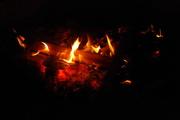26th Feb 2016 - Evening camp fire