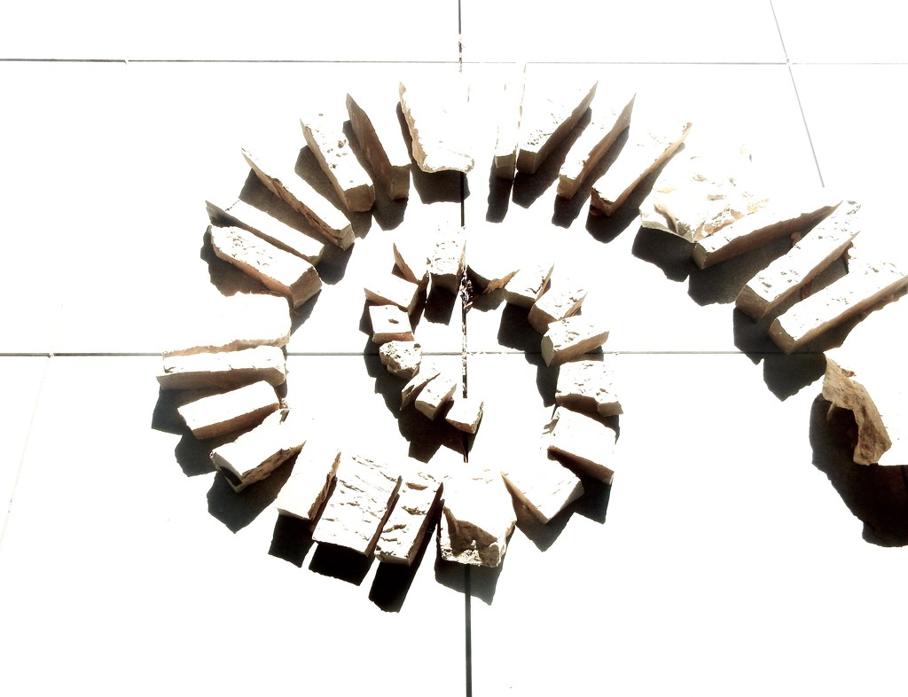 High Key Stone Spiral by mcsiegle