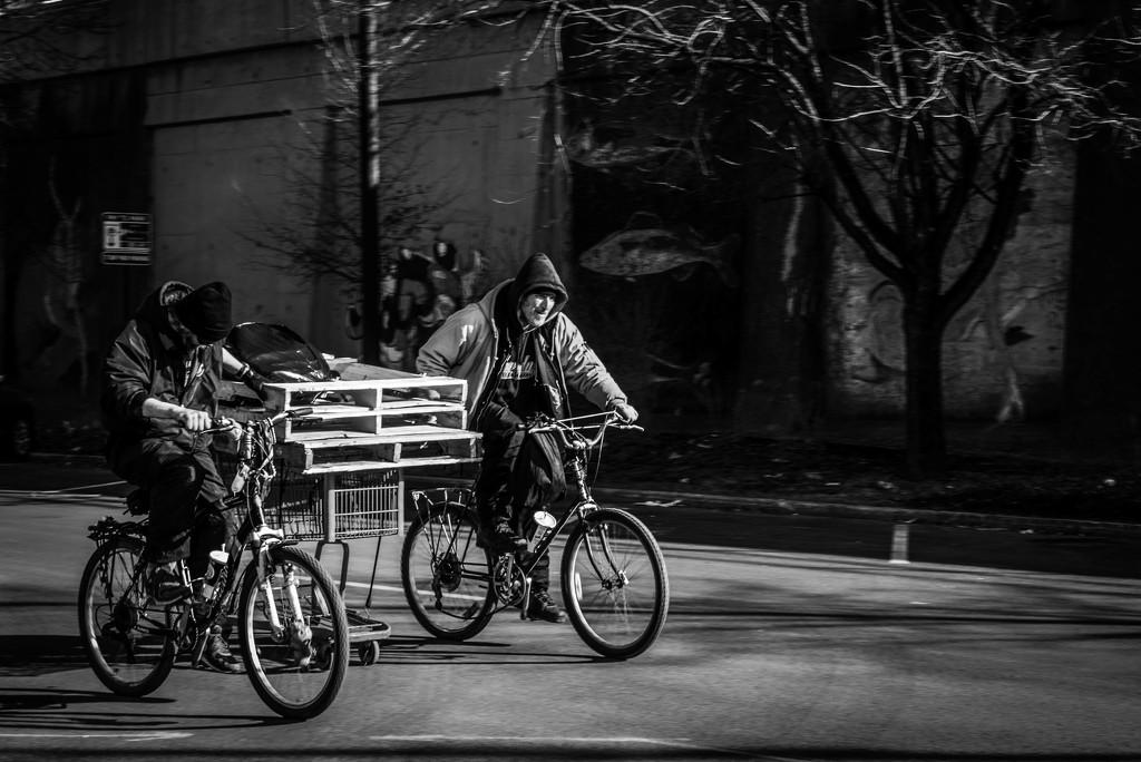 The Biker's Moving Van by taffy