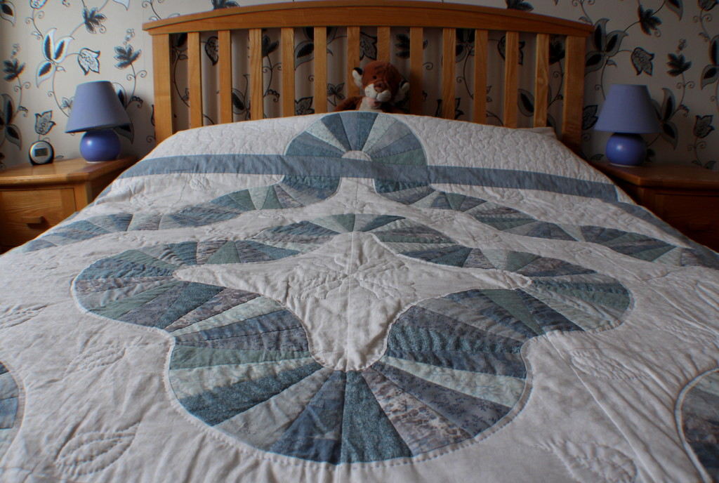patchwork quilt by busylady