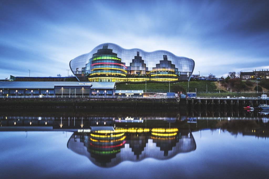 Day 063, Year 4 - The Sage, Gateshead by stevecameras