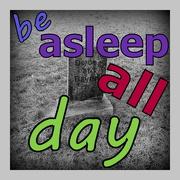 8th Mar 2016 - Be asleep all day