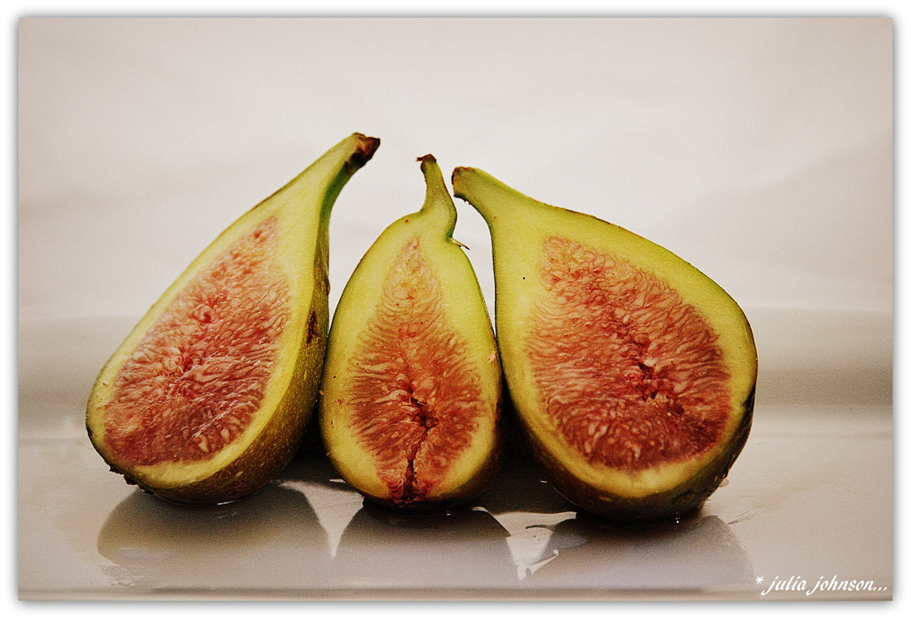 Trio of Figs.. by julzmaioro