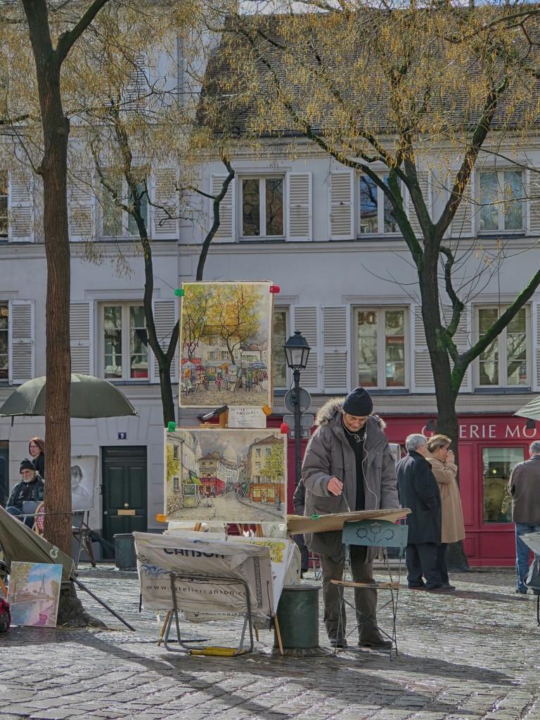 Place du Tertre by jamibann