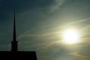 7th Mar 2016 - steeple and sunrise