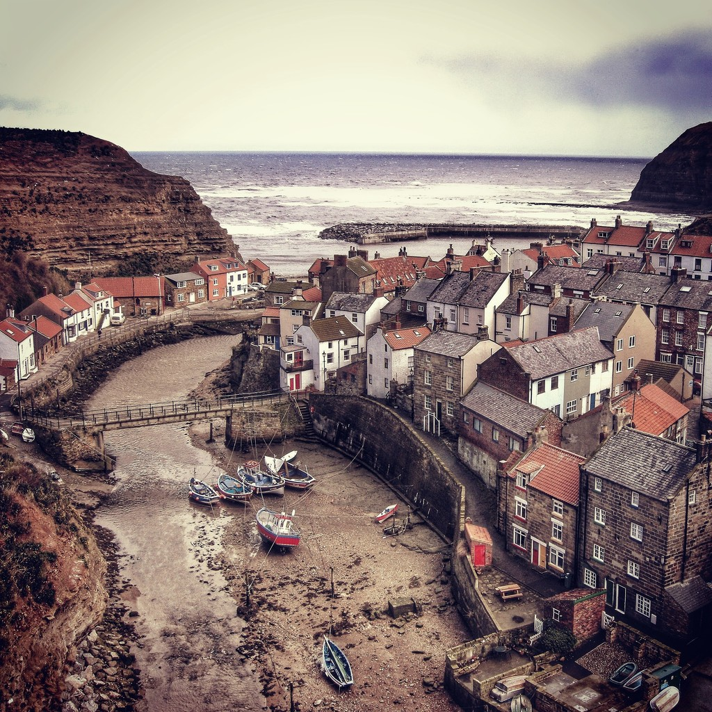 Staithes Yorkshire by jack4john
