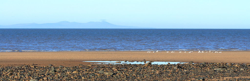 Isle of Man from Cumbria by callymazoo