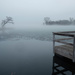 Fishing Dock and Fog by tosee