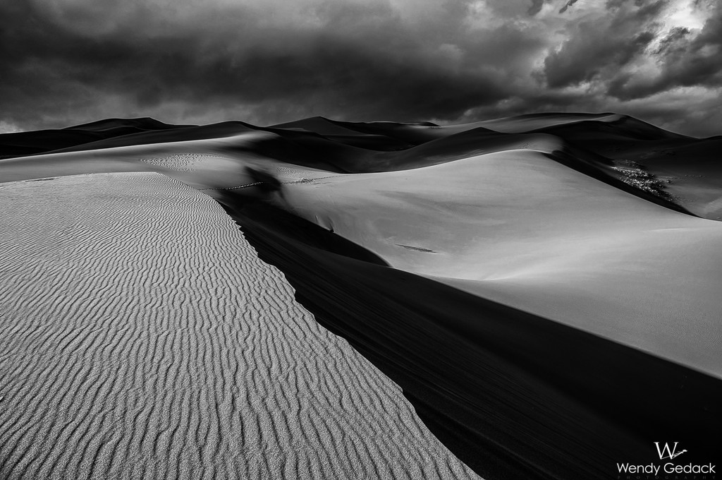 Dunes In Black and White by exposure4u