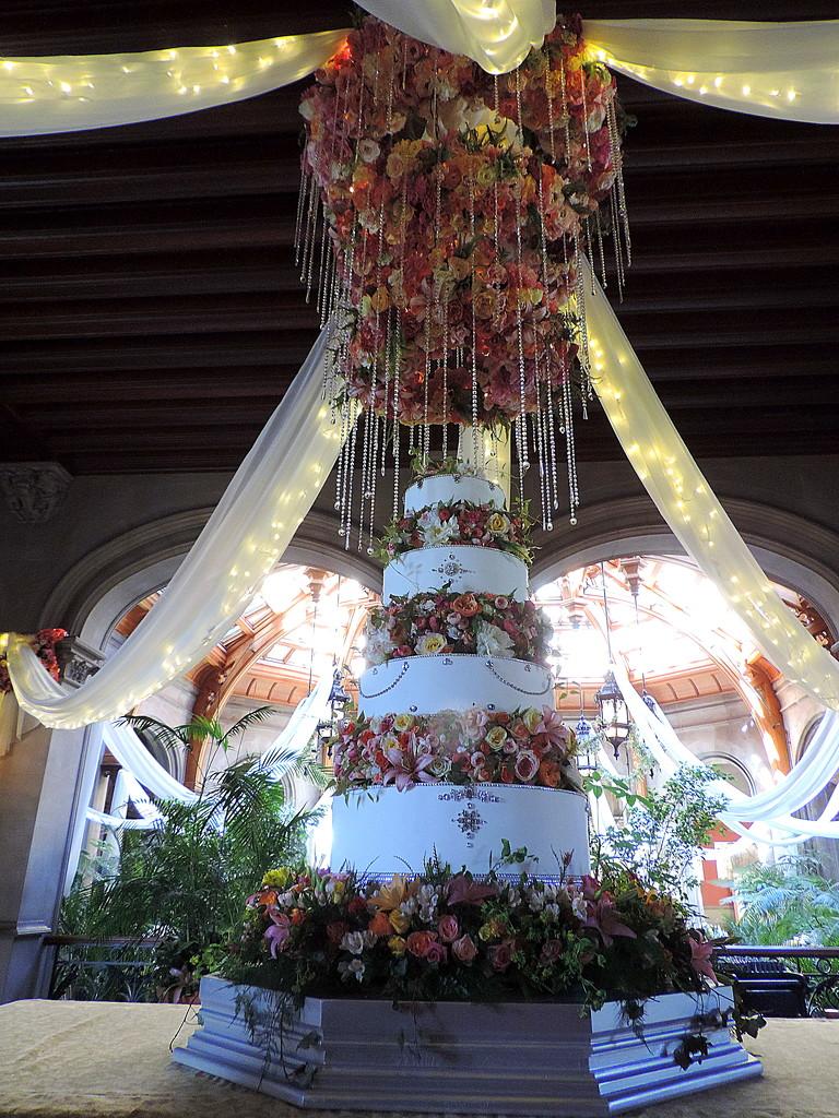 Fabulous Wedding Cake by homeschoolmom