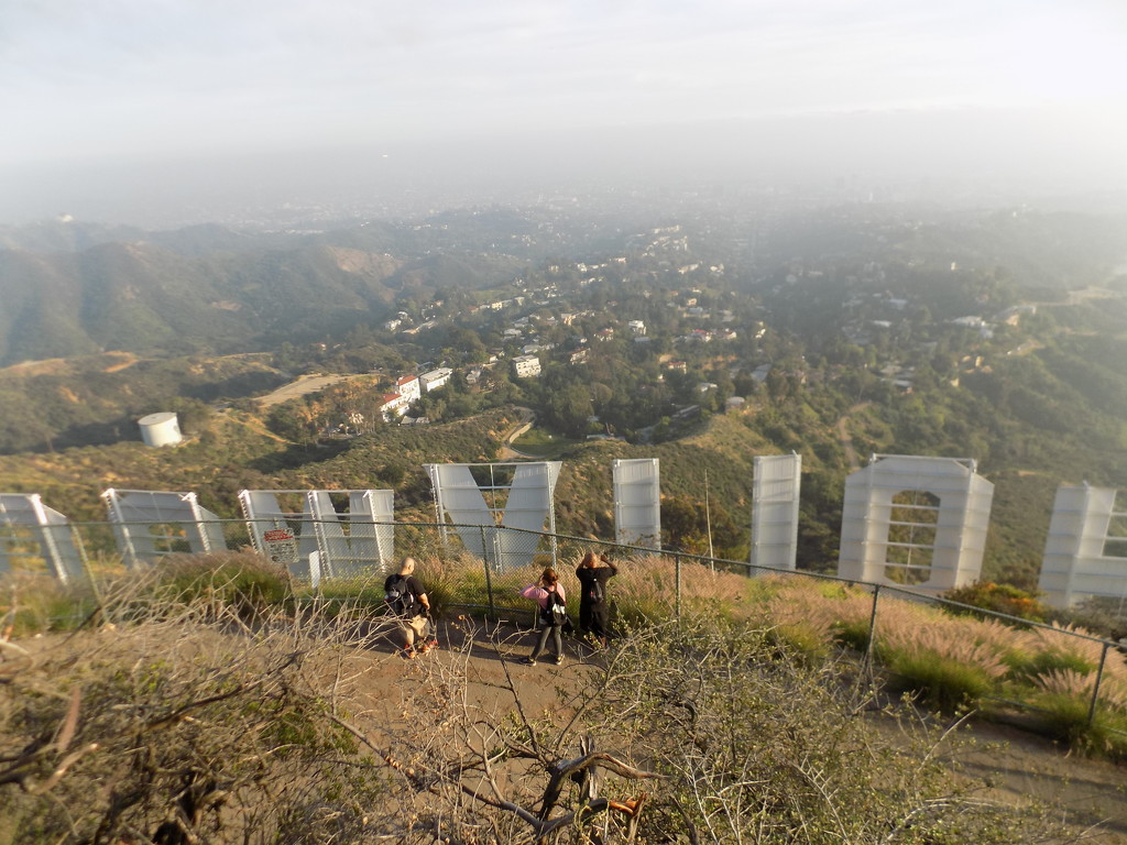 Hike to the Hollywood Sign by jnadonza