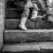 March - Sat on steps (Better on black) by newbank