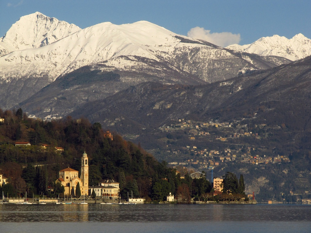 Lake Como, Italy by Weezilou