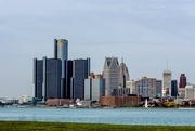 30th Mar 2016 - Detroit Skyline