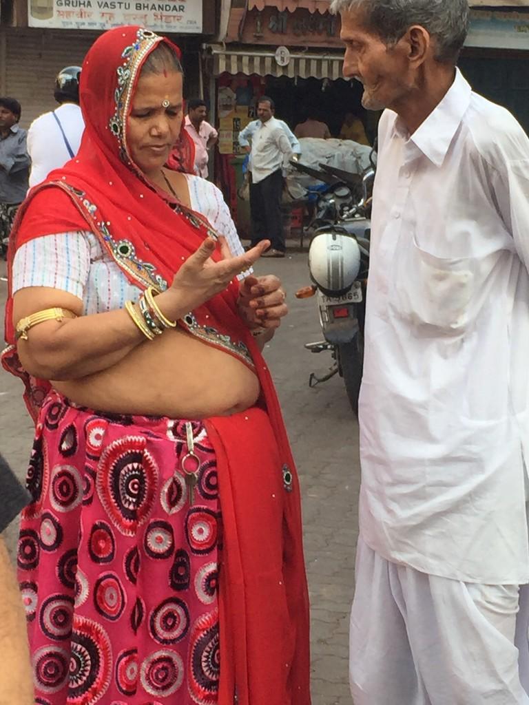 Rajasthani lady by veengupta