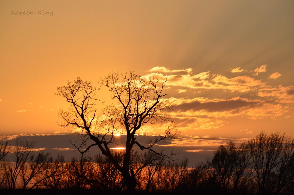 Kansas Sunrise 3-30-16 by kareenking