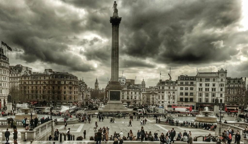 Trafalgar Square by jack4john