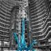 Blue Sculpture by taffy
