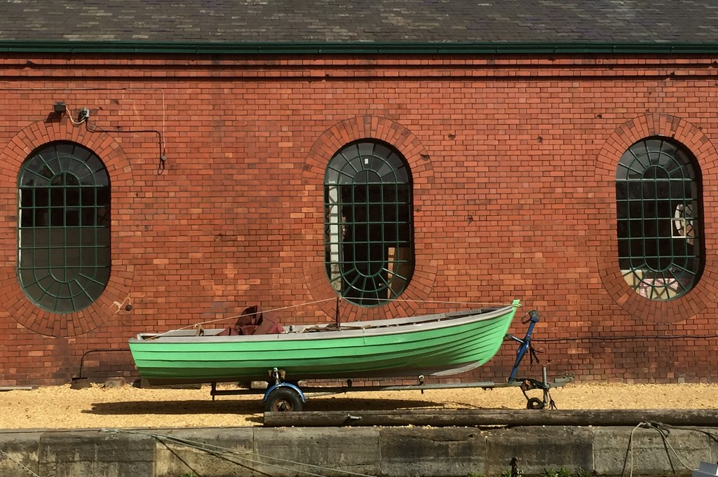Little green boat by mandapanda1971