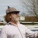 Modern Glasses and Old hat for Narrowboat Man by padlock