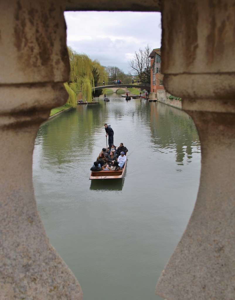Cambridge meetup - View from Clare bridge by jennywren