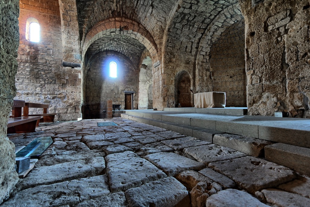Abbey of San Giusto by spectrum