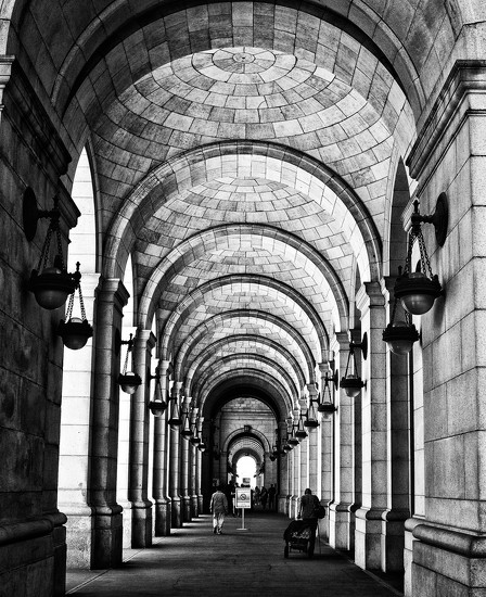 Union Station columns by pistache