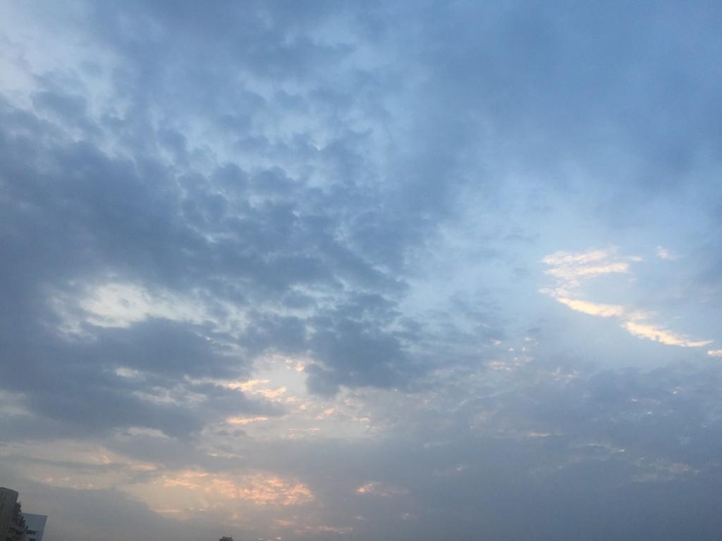 eastern sky by veengupta