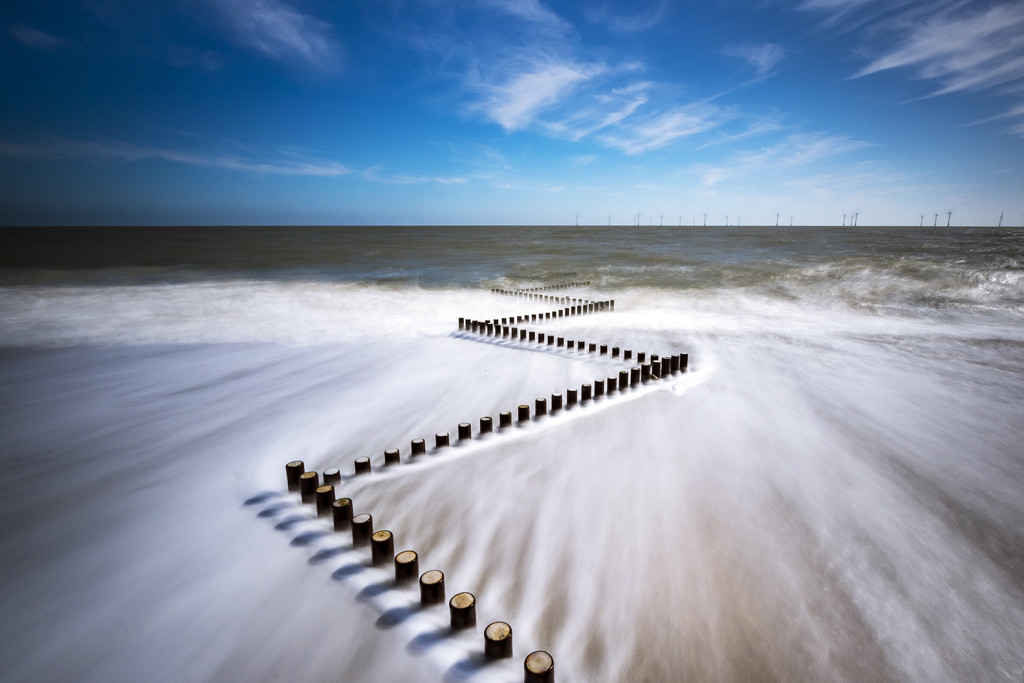 Day 112, Year 3 - Cracking Weather & Crashing Waves At Caister  by stevecameras