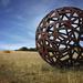Big rusty ball