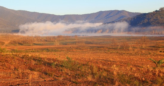 Howqua Valley morning mist by pictureme