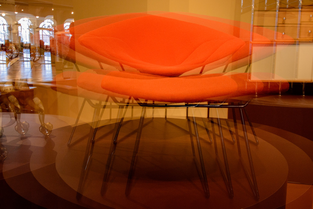 iconic triple exposed chair by jackies365