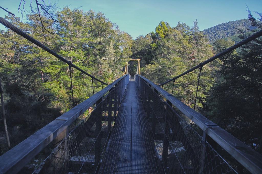 Swingbridge by kiwinanna