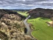 25th Apr 2016 -  View  of the River Wye from Symonds Yat