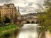 28th Apr 2016 - Looking towards the Weir in Bath