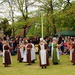 Maypole dancing on the green