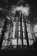 19th Apr 2016 - utrecht cathedral in bw