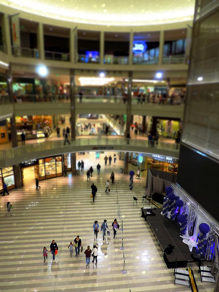 Four Floors of Shopping by homeschoolmom