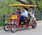 28th Dec 2015 - On a bicycle built for four!