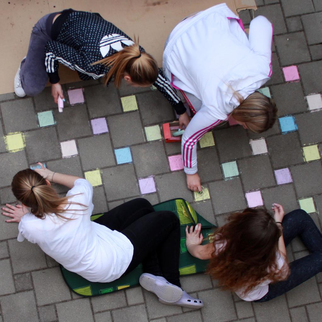 Teenagers going Five by cherrymartina