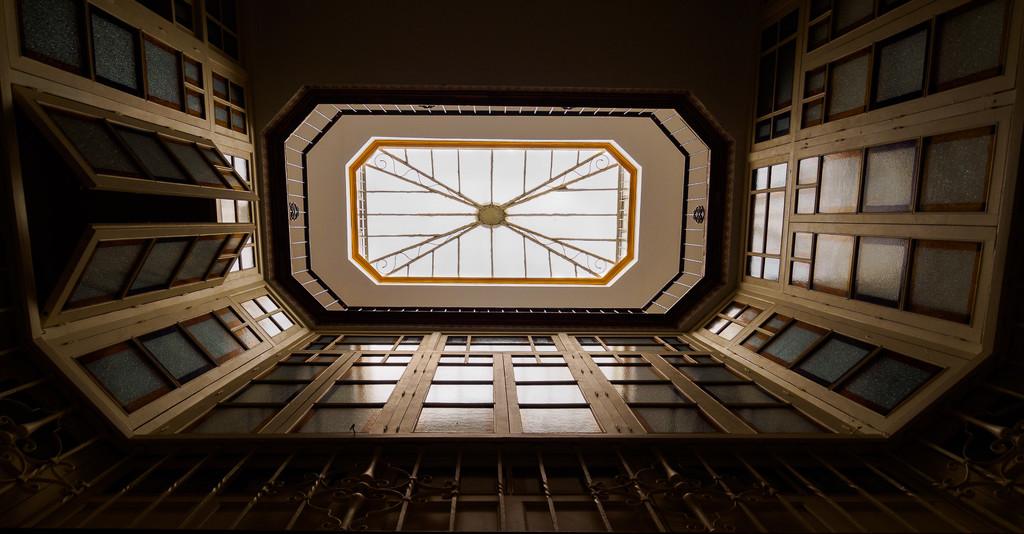 Atrium with Doors by fotoblah