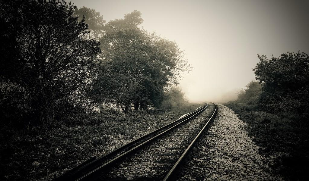 Down the rails  by iowsara