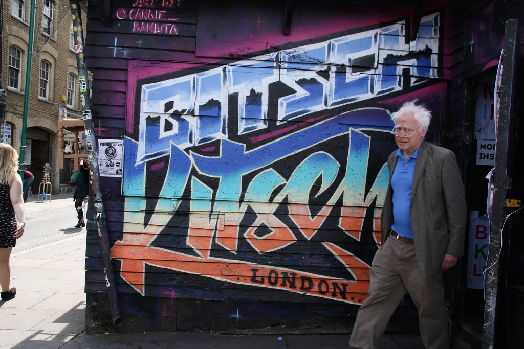 Street Art Brick Lane by bizziebeeme