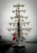 17th May 2016 - Mexican Navy tall ship The ARM Cuauhtémoc in Halifax II