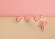 16th May 2016 - (Day 93) - Paperclip Hearts